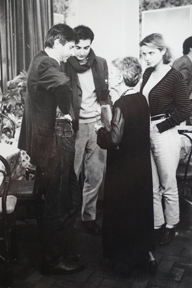 Claude Eric Poirot, Olivier Assayas, Fabienne Babe and Janine Bazin