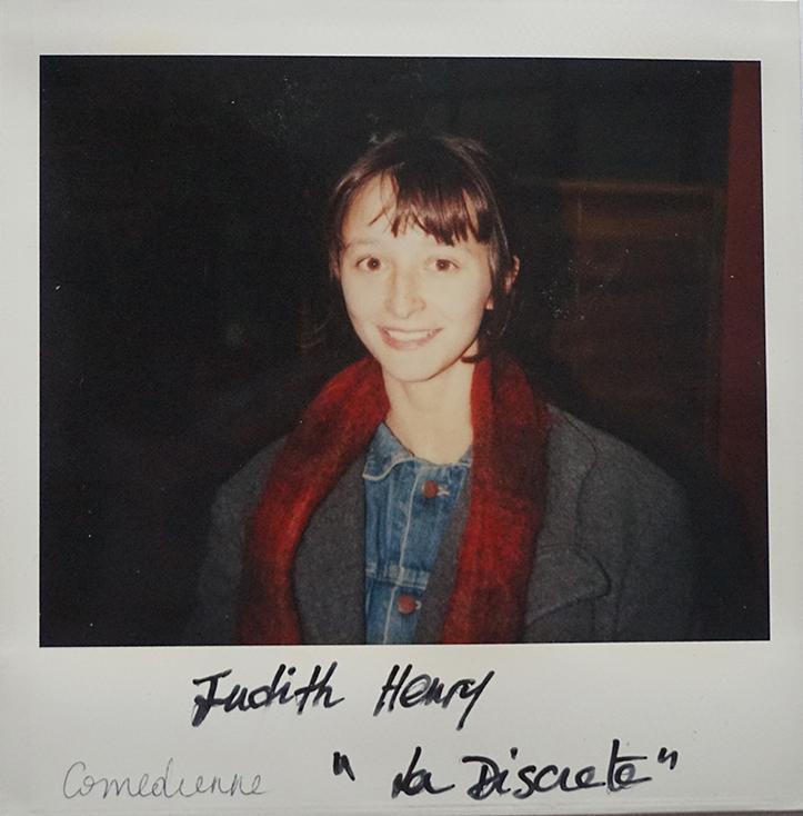 """Judith Henry, comédienne de """"La Discrète"""" de Christian Vincent"""