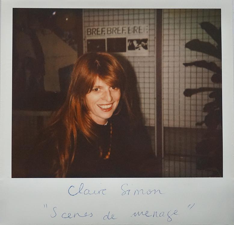 """Claire Simon (""""Scènes de ménage"""", presented out of competition)"""
