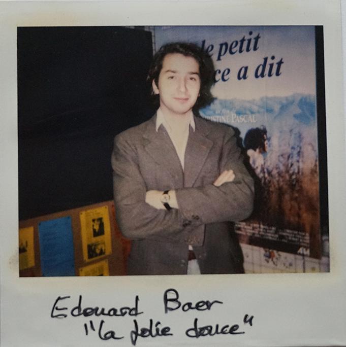 """Edouard Baer, acteur de """"La Folie douce"""" de Frédéric Jardin"""