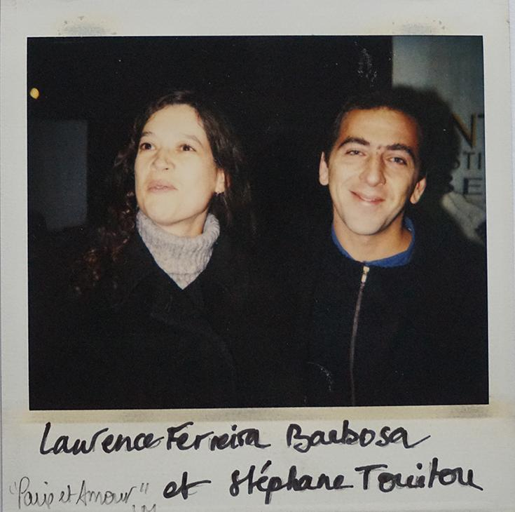 """Laurence Ferreira Barbosa et Stéphane Touitou, """"Paix et amour"""""""