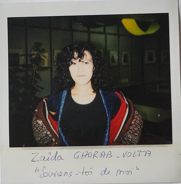 "Zaida Ghorab-Volta, ""Souviens toi de moi"""