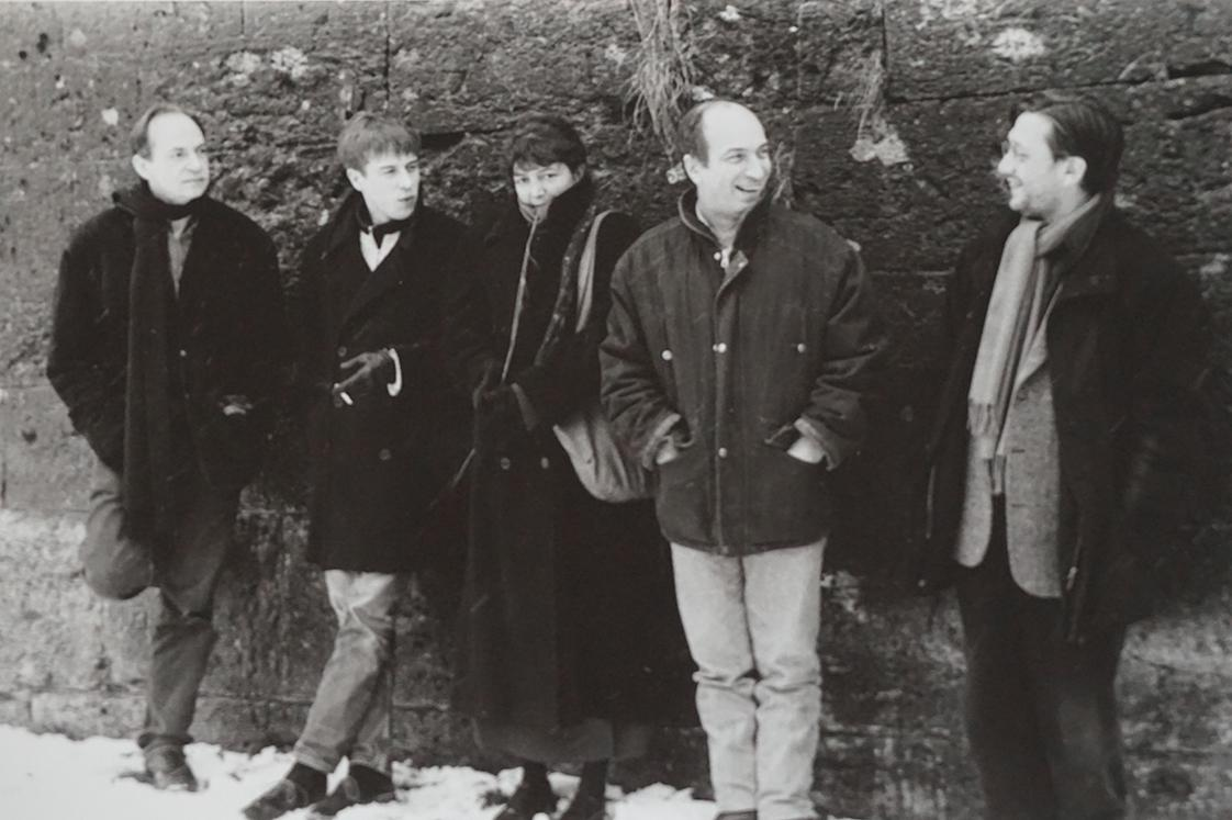 The jury (from left to right) : Jean-Pierre Limosin, Dominique Marchais, Françoise Etchegaray, Jean-Claude Biette, Xavier Carniaux (c) Patrick Messina