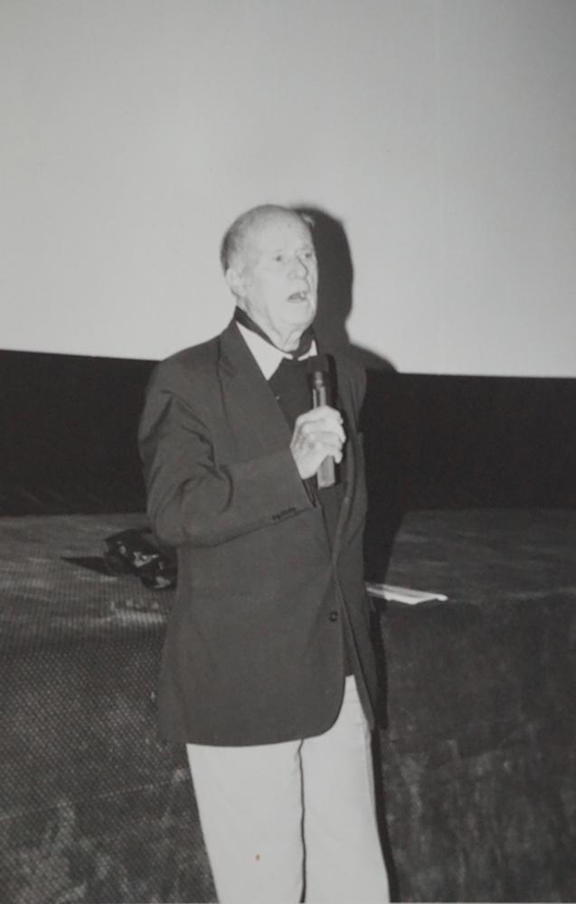 Jean Rouch sur scène