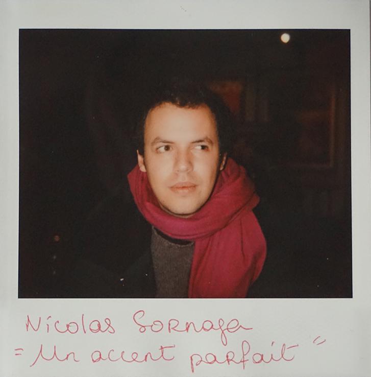"""Nicolas Sornaga, """"Un accent parfait"""" (en compétition)"""