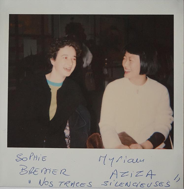 """Myriam Aziza et Sophie Bredier (légende inversée sur la photo) """"Nos traces silencieuses"""", Grand Prix documentaire"""
