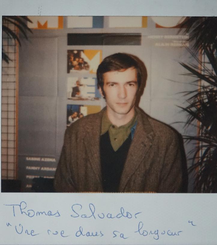 """Thomas Salvador (Grand Prix du court métrage pour """"Une rue dans sa longueur"""")"""