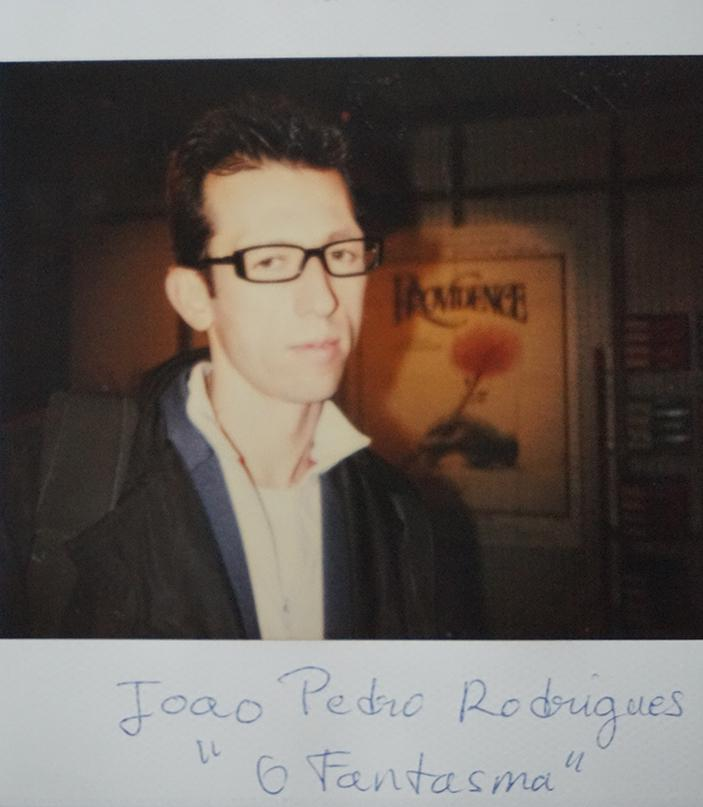 """Joao Pedro Rodrigues (Grand Prix du long métrage étranger """"O Fantasma"""")"""