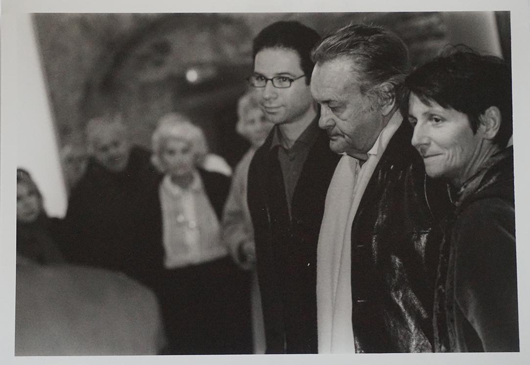 Bernard Benoliel, Jerzy Skolimowski et Sylvie Courray (traductrice)