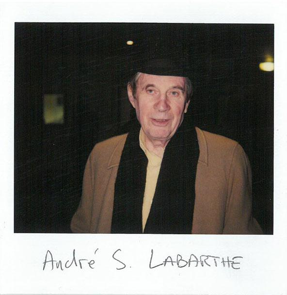 André S. Labarthe, guest of honor of the festival