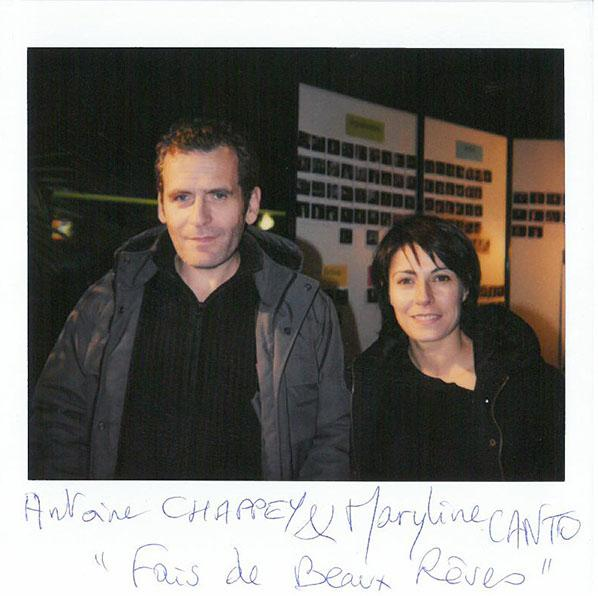 "Antoine Chappey and Marilyne Canto, ""Fais de beaux rêves"", Grand Prix French Short film"