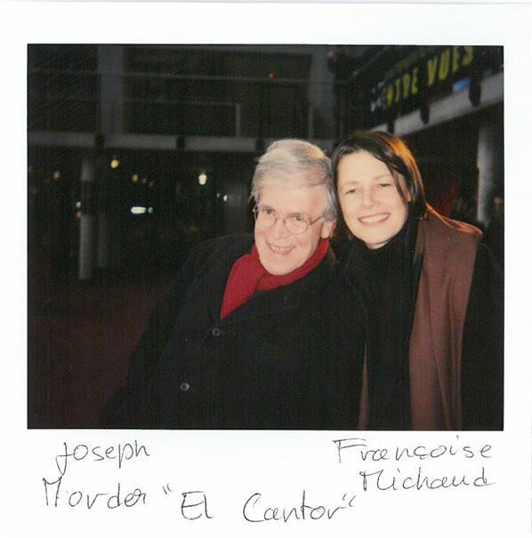 "Joseph Morder and Françoise Michaud, ""El Cantor"", (in competition)"