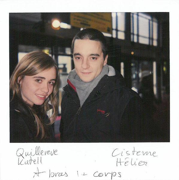 """Katell Quillévéré and Hélier Cisterne, """"A bras le corps"""" (Audience Short film award)"""