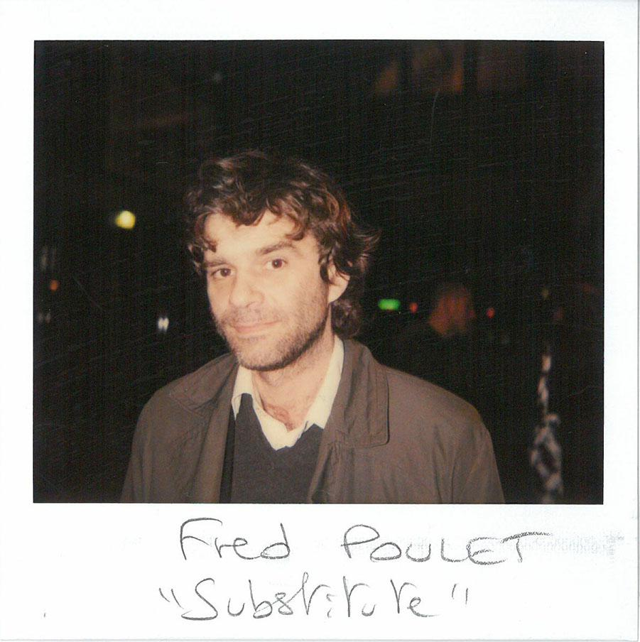 "Fred Poulet, co-director of ""Substitute"" (French Film award)"