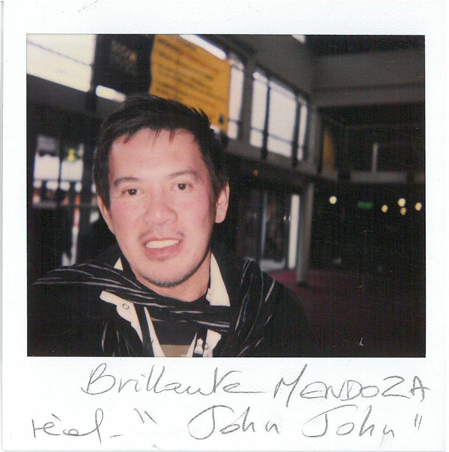 """Brillante Mendoza (""""John John""""en compétition)"""