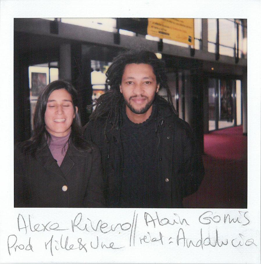 """Alexa Rivero et Alain Gomis (""""Andalucia"""", Prix du public - long métrage de fiction)"""