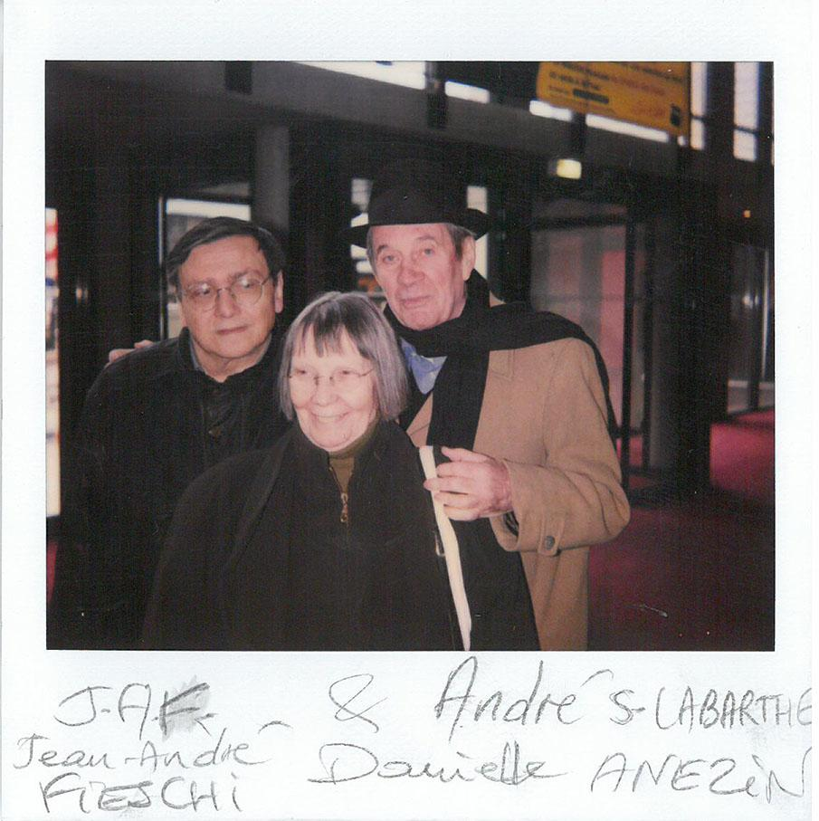 Jean-André Fieschi, Danielle Anezin and André S. Labarthe