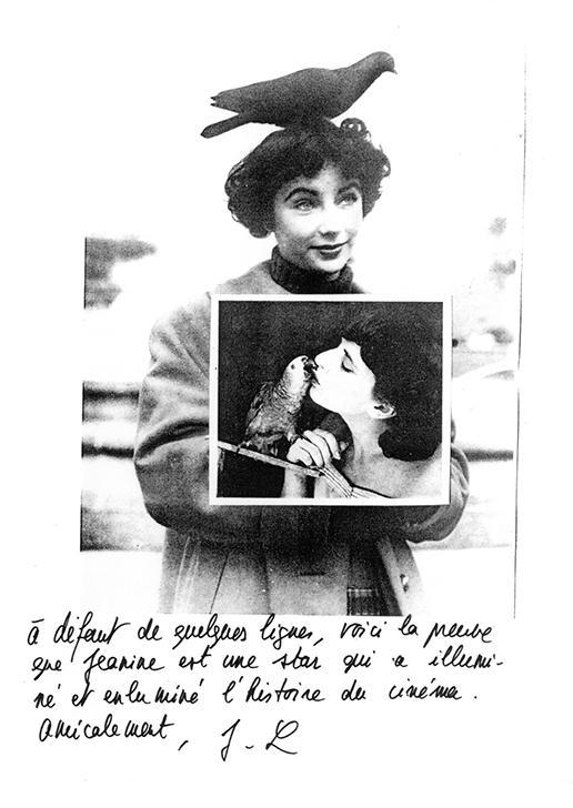 Janine Bazin par Jean-Luc Godard