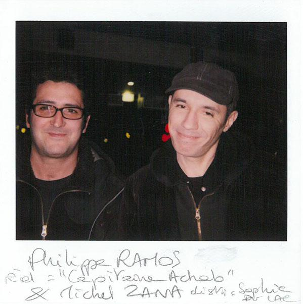 """Michel Zana and Philippe Ramos (""""Capitaine Achab"""")"""