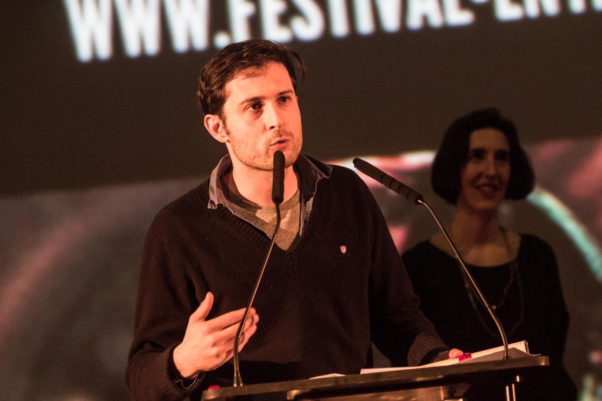"""Arthur Harari, Grand Prix Best Short film for """"Peine Perdue"""""""