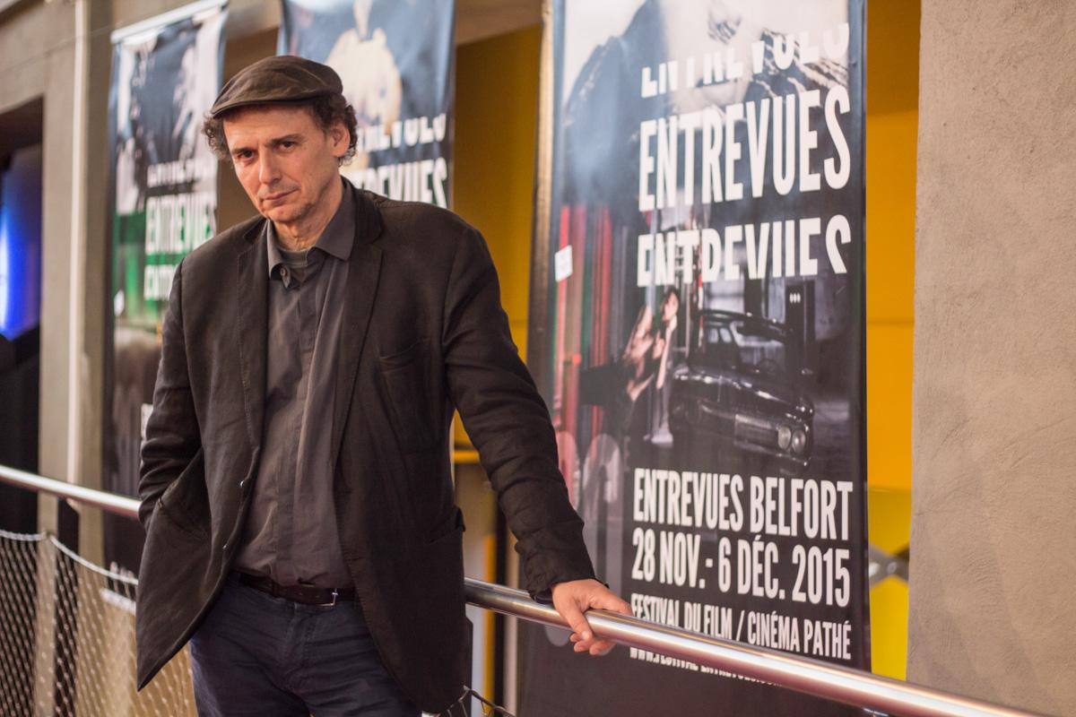 "José-Luis Guerin in Belfort for the Premiere of his film ""The Academy of the muses"""
