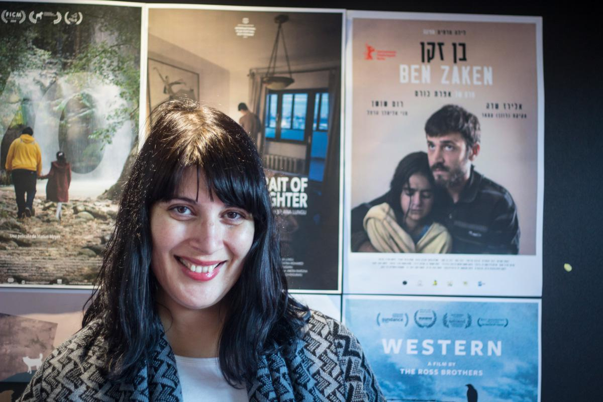"Efrat Corem, winner of the Grand Prix Janine Bazin for her film ""Ben Zaken"""