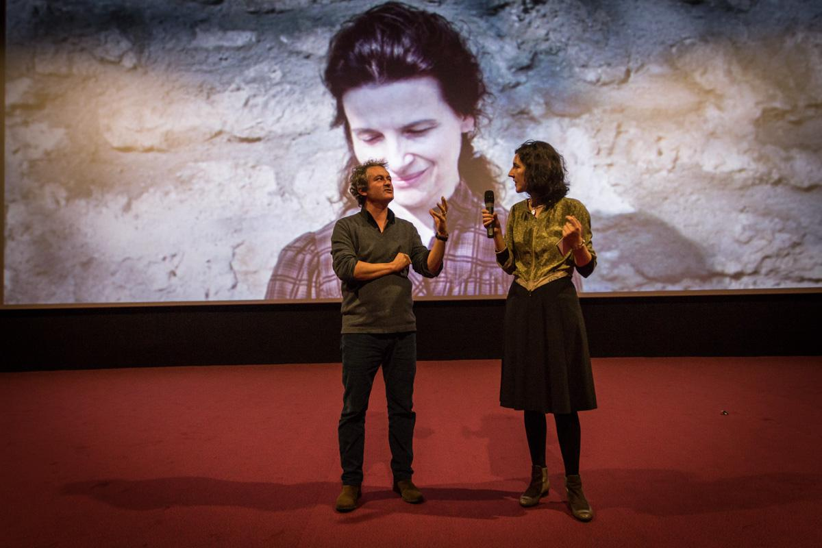 "Alongside to Lili Hinstin, artistic director of the festival, the filmmaker Arnaud Larrieu presents his exquisite corpse choice ""Camille Claudel, 1915"" by Bruno Dumont"