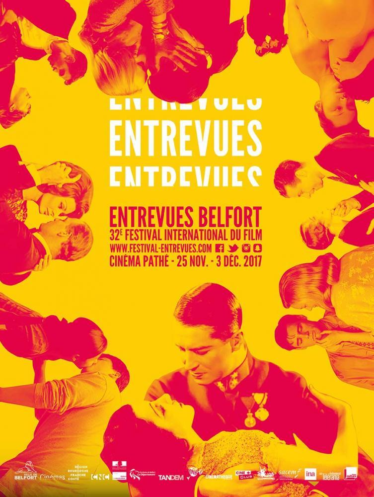 Affiche du festival Entrevues Belfort 2017