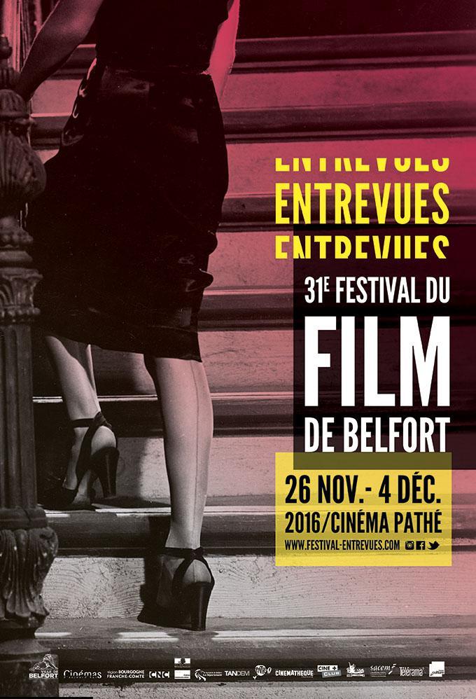 Affiche du festival Entrevues Belfort 2016